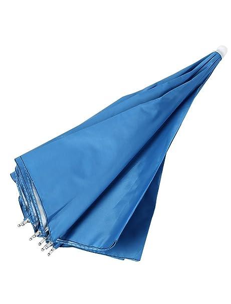 Amazon.com: Pesca Golfe Caça Cap cabeça dobrável Umbrella Hat Azul 67 centímetros Dia: Home & Kitchen