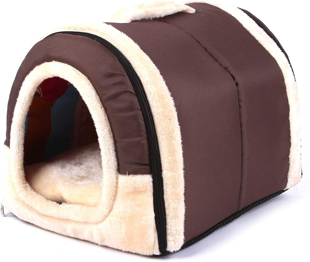 Amazon Com Solid Cave Shape Pet House Beds For Cats And Small Dogs Waterproof And Skid Free Base 23 6217 7217 72 Inches Pet Supplies