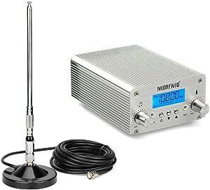5W / 15W PLL FM Transmitter Radio Stereo Station Wireless Broadcast+TNC Antenna for Drive-in Church Supermarket School