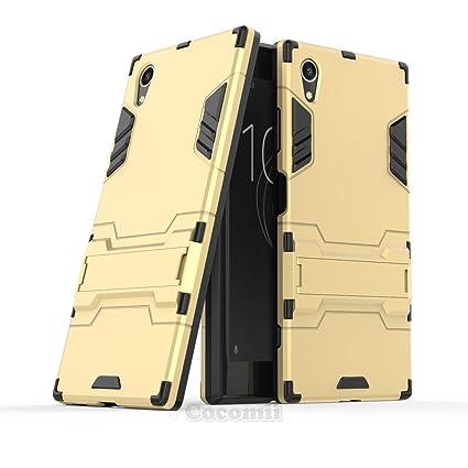 Cocomii Iron Man Armor Sony Xperia XA1 Plus Funda [Robusto] Superior Táctico Sujeción Soporte Antichoque Caja [Militar Defensor] Cuerpo Completo Case ...