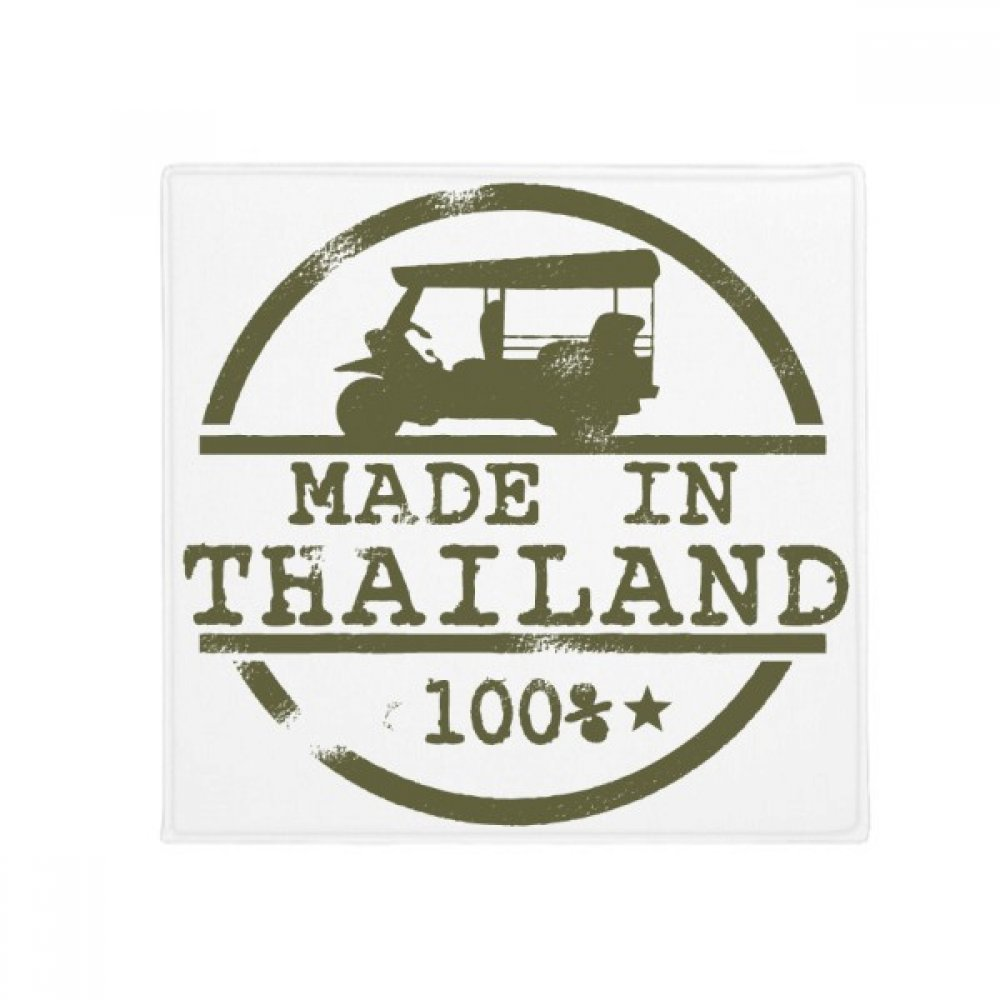 DIYthinker Thailand Make in Thailand Tractor Illustration Anti-Slip Floor Pet Mat Square Home Kitchen Door 80Cm Gift