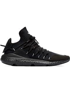 buy popular 67141 caecc adidas Y-3 Yohji Yamamoto Men s BC0955 Black Suede Sneakers