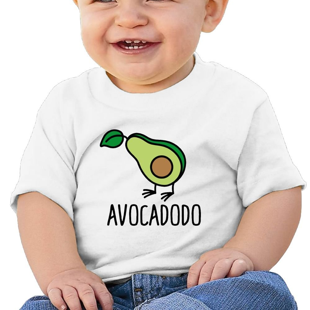 REBELN Avocado Cotton Short Sleeve T Shirts for Baby Toddler Infant