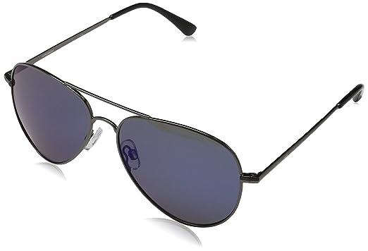 e9483debe4 Polaroid Sunglasses P4139s Polarized Aviator Sunglasses Dark Blue Mirror