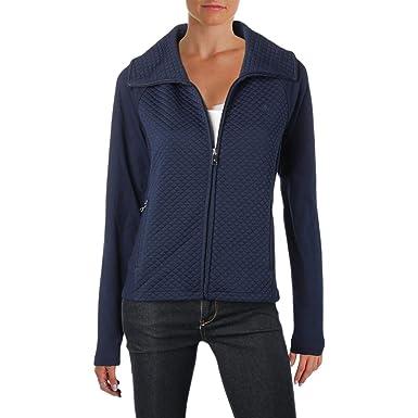 9939e1c2f22 Lauren Ralph Lauren Womens Quilted Lightweight Soft Shell Jacket Navy XS at  Amazon Women s Coats Shop