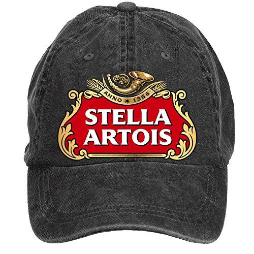 gaojidian-stella-artois-beer-cotton-six-panel-till-baseball-cap-hats-unisex