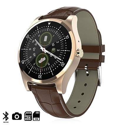 DAM. DMZ143BRW. Smartwatch L18 con Cámara, Opción De Sim, Y ...
