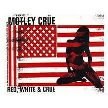 Motley Crue Red White & Crue Sticker