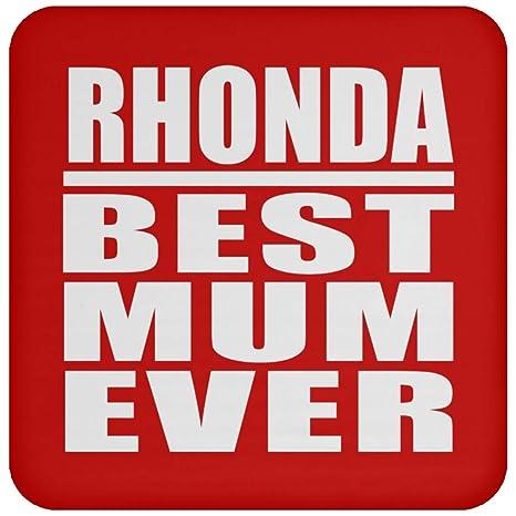 Designsify Rhonda Best Mum Ever - Posavasos de Bebida ...