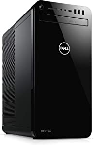 2019 Dell XPS 8930 Premium Desktop Computer, 8th Gen Intel Hexa-Core i7-8700 up to 4.6GHz, 32GB DDR4 RAM, 2TB 7200 RPM HDD + 1TB SSD, 802.11ac WiFi, Bluetooth 4.2, NO DVD, HDMI, Windows 10 Home