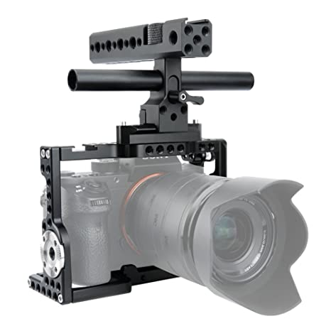 NICEYRIG Kit de Jaula para cámara A7III /A7RII / A7RIII / A7RII ...
