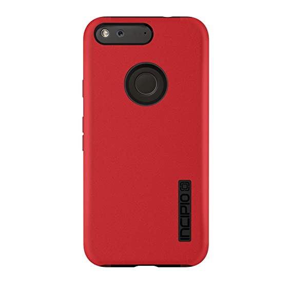 differently 0eb84 c3678 Google Pixel XL Case, Incipio [Hard Shell] [Dual Layer] DualPro Case for  Google Pixel XL-Iridescent Red/Black
