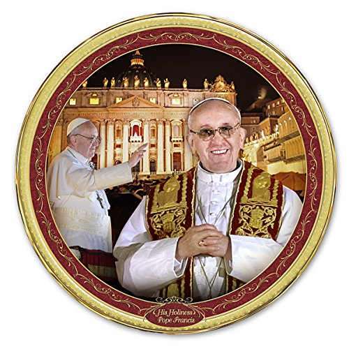 Pope Commemorative Collector Plate: His Holiness, Pope Francis by The Bradford (Bradford Exchange Collector)