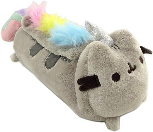 Pusheen [N7897] - Kit de felpa Pusheen (unicornio) gris multicolor - 25x8.5x7.5 cm.: Amazon.es: Equipaje