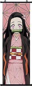 Anime Poster Hanger Fabric Scroll Cartoon Comic Japanese Manga Scroll Hanging Wall Picture Decor