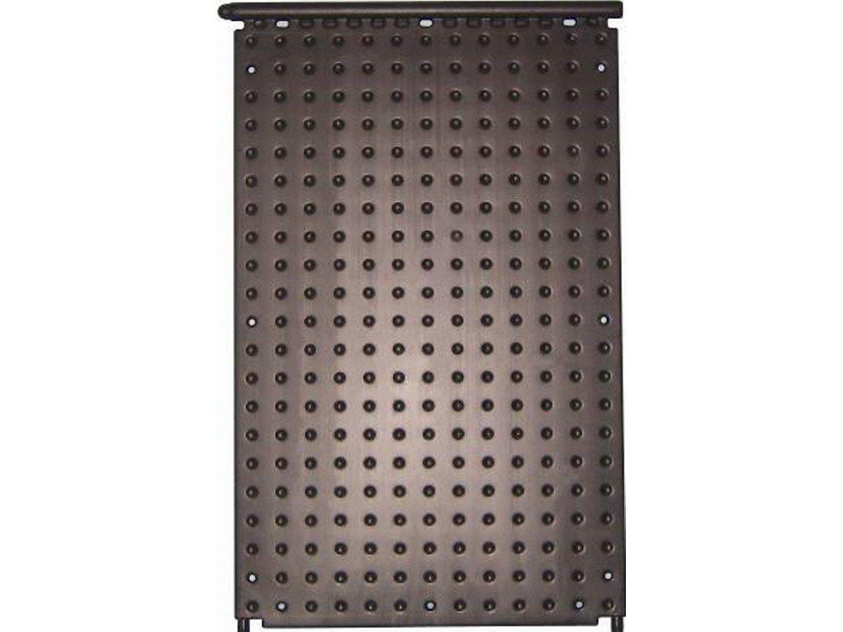 Pool Piscina Oku de absorber F1000, Negro Con 2conector del surtidor, D 25mm y estrella integrado de colección Tubo D = 40Mm, medidas de 1320X 820mm