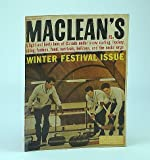 img - for Maclean's - Canada's National Magazine, January (Jan.) 7, 1961: Whistler's Ski Potential / The Richardsons are World Curling Champs (cover photo) book / textbook / text book