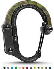 HEROCLIP Versatile Clip-(Medium) Non-Locking Carabiner Attach Clip to Anything