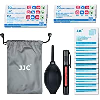 JJC Deluxe DSLR & Mirrorless Camera Lens Cleaning Kit Tool with Soft Air Blower Blaster, Lens Cleaning Pen, Microfiber…