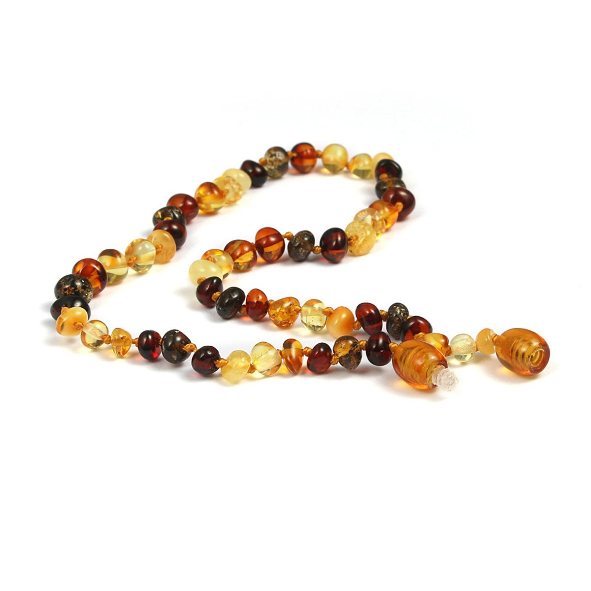 Teething Pain Relief for Your Baby Baltic Amber Teething Necklace | Teething Anklet by ANAZOZ