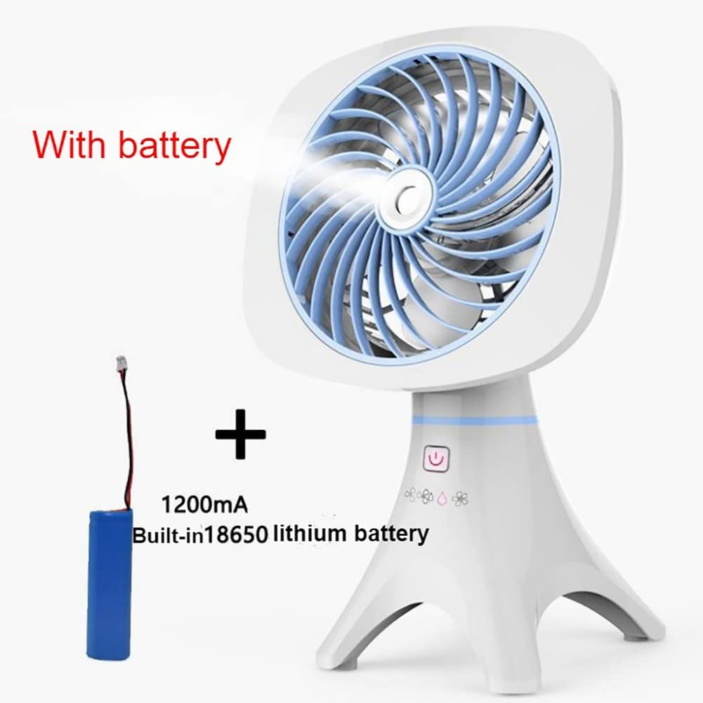 Pink Directly Plug Hot Summer Powerful Portable Mini Fan Air Conditioner Cooler Humidifier Purifier