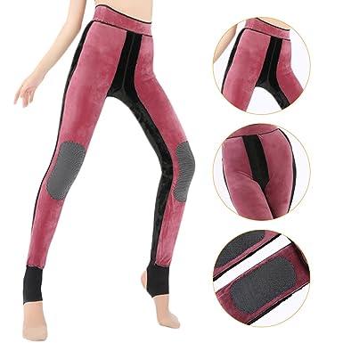 b4e5fbdc3d9a85 Women Winter Leggings Thick Warm Thermal Stretchy Slim Skinny Leggings Pants  (Red): Amazon.co.uk: Clothing