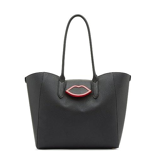 6a3cb163348 Lulu Guinness Women s Sofia Shoulder Bag Black (Black)  Amazon.co.uk  Shoes    Bags