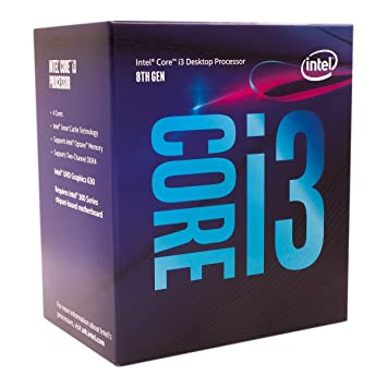 Amazon Com Intel Core I3 8100 Desktop Processor 4 Cores Up To 3 6