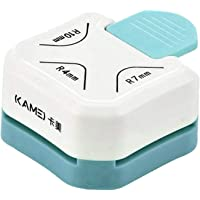 shamjina 3-in-1 Paper Corner Punch Border Rounder Laminate DIY Round Corner Cutter Maker