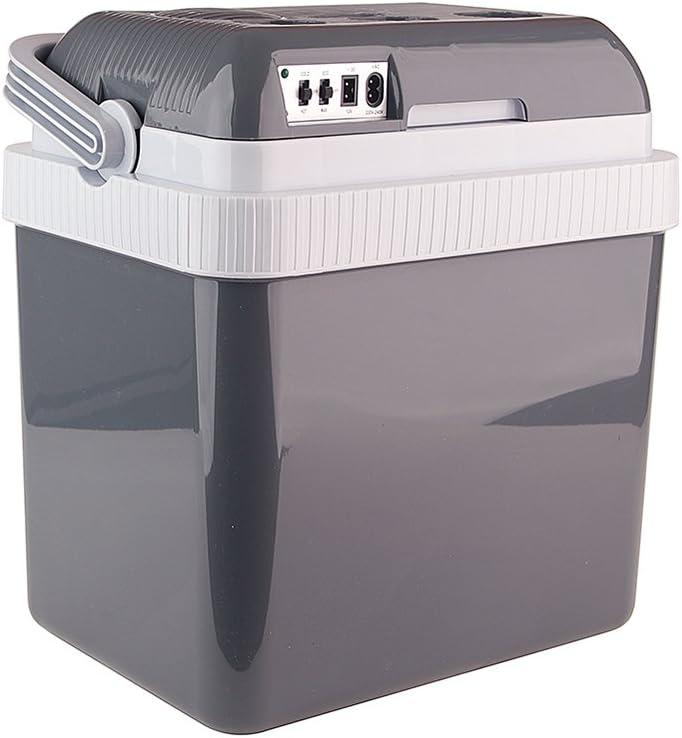 Auto Companion - Nevera eléctrica portátil (24L, CA 240 V - 12 V), mantiene el frío o el calor