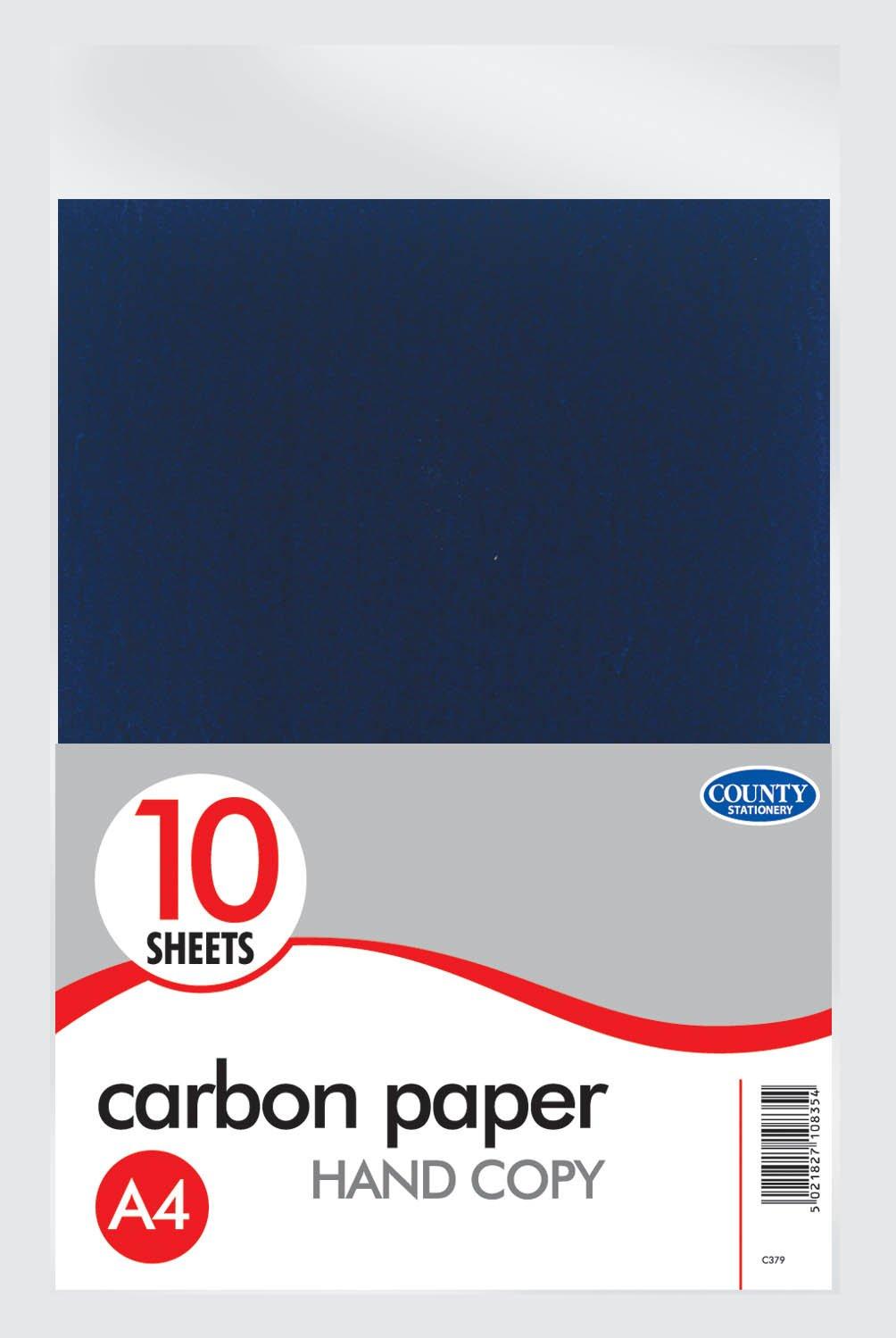 Paquete Quantity 10 A4 MANO CARBONO