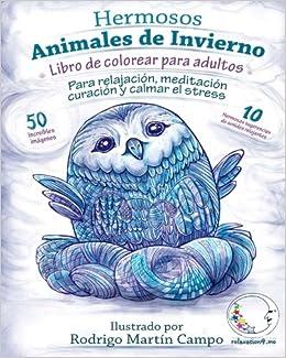 Descargar Libro De Colorear Para Adultos Contra El Stress: Hermosos Animales De Invierno De Relajación: Volume 1 PDF