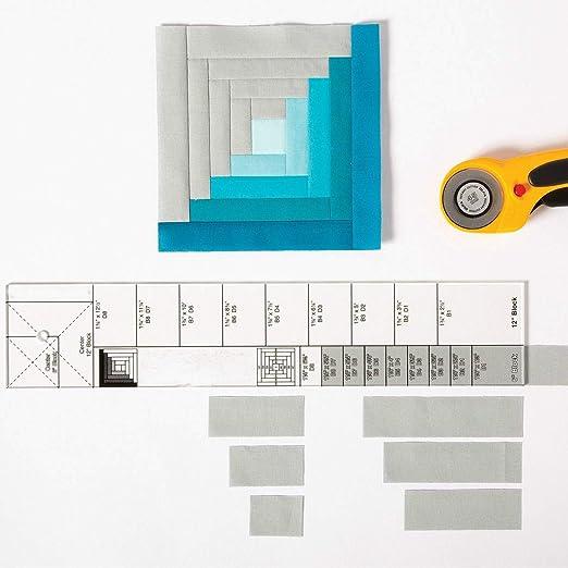 YICBOR Plantilla de retazos para máquina de coser doméstica de ...