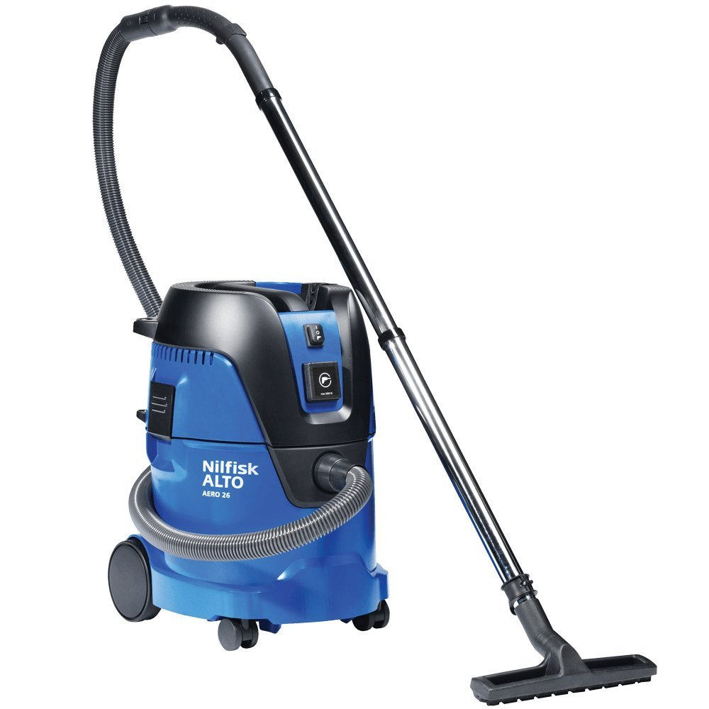 Aero 26 7 Gal. Professional Wet/Dry Vacuum w/ Tool Start by Nilfisk