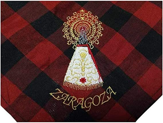 DISBACANAL Cachirulo Bordado Virgen del Pilar: Amazon.es: Juguetes y juegos