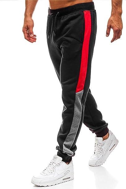 Herren Jogginghosen Laufen Joggen Trainingshose Freizeit Sporthose Sweat Hosen