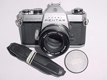 d0fe77157 Asahi Pentax Spotmatic SLR Professional 35MM Film Camera - Vintage Honeywell
