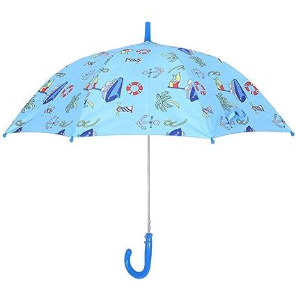 Paraguas plegable infantil Doble uso bebé para niños Lluvia y lluvia sol niños Creative Princess Umbrella
