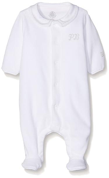 Petit Bateau 22302, Pelele para Dormir para Bebés, Blanco (Ecume) 50: Amazon.es: Ropa y accesorios