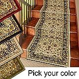 Marash Luxury Collection 25' Stair Runner Rugs Stair Carpet Runners (Ivory)