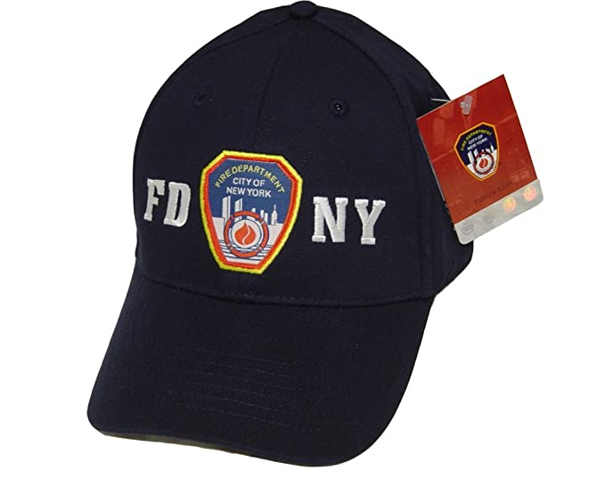 193193ab1bf771 FDNY Baseball Cap Hat Officially Licensed by The New York City Fire ...