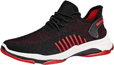 JiaMeng Zapatos de Verano para Hombres Zapatillas Ligeras ...