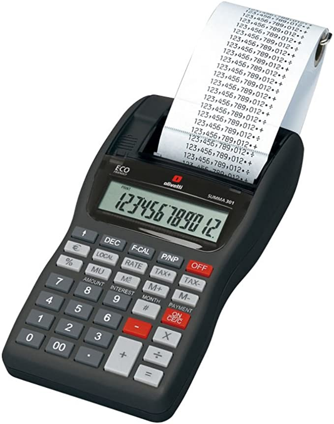 Olivetti B3312000 - Calculadora: Olivetti: Amazon.es: Oficina y ...