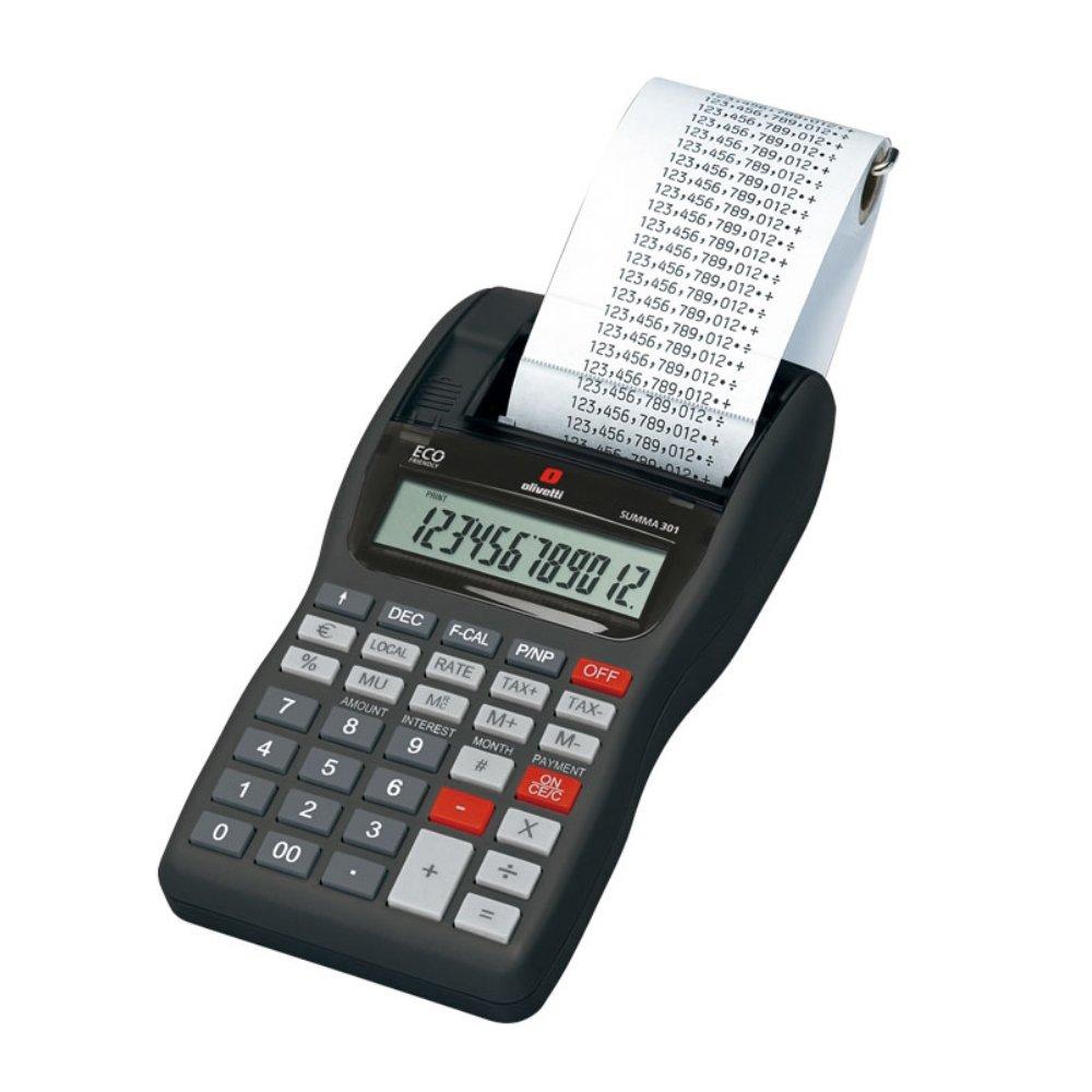 Olivetti Summa 301calcolatrice da tavolo stand verkorker B8969