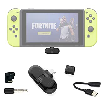 Fortnite Adaptador Bluetooth, Route + Pro, Mini USB C Adaptador de Audio, Inalámbrico