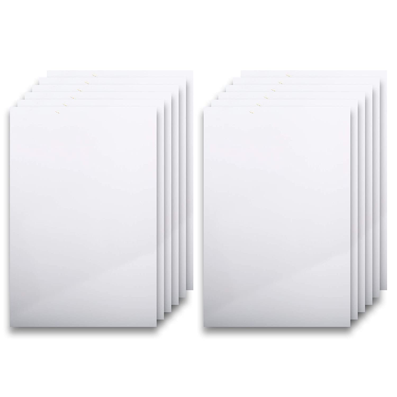 CTG, Office Works Collection, Foam Board Set, 20 x 30 inches, White, 10 Pieces