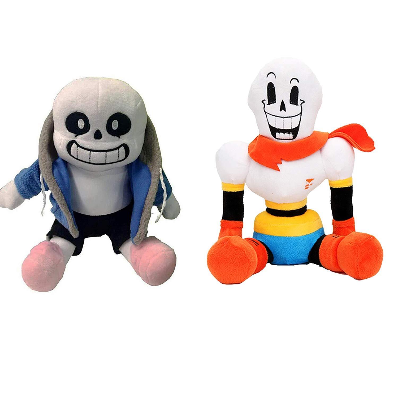 Undertale Sans Papyrus Plush Figure Toy Stuffed Toy Doll for Kids Children by DQDZ