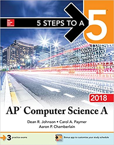 Amazon 5 steps to a 5 ap computer science a 2018 ebook dean r amazon 5 steps to a 5 ap computer science a 2018 ebook dean r johnson kindle store fandeluxe Image collections