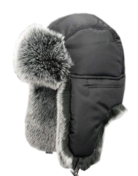 Insun Unisex Cappello da Aviatore Berretto Antivento Invernale Caldo  Cappelli Russo  Amazon.it  Abbigliamento e8701f0678f9