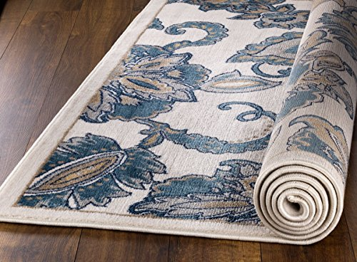 MADISON COLLECTION RD-2TOW-LG94 402 Vintage Distressed Style Area Rug Clearance Soft Pile Durable Size Option , 1'.10'' x 7' Hallway Runner